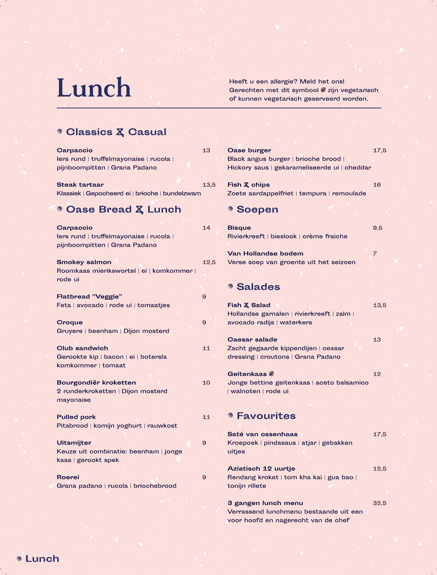Lunch geknipt